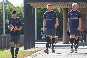 Christian N�rgaard (Br�ndby IF), Lasse Vigen Christensen (Br�ndby IF), Johan Larsson (Br�ndby IF)