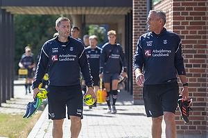 Martin Retov, Assistenttr�ner (Br�ndby IF), Sten Christensen, m�lmandstr�ner (Br�ndby IF)