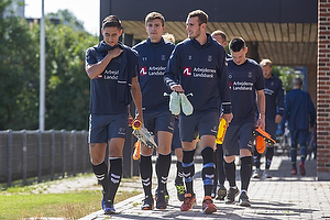 Svenn Crone (Br�ndby IF), Mikael Uhre (Br�ndby IF), Jens Martin Gammelby (Br�ndby IF)