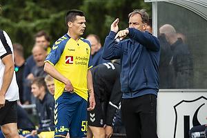 Ante Erceg (Br�ndby IF), Alexander Zorniger, cheftr�ner (Br�ndby IF)