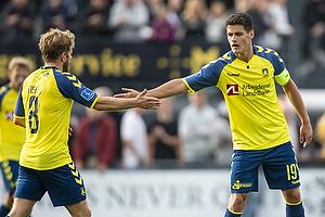 Kasper Fisker (Br�ndby IF), Christian N�rgaard, anf�rer (Br�ndby IF)