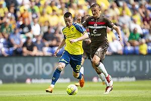 Ante Erceg (Br�ndby IF), Philipp Ziereis (St. Pauli)
