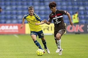 Morten Frendrup (Br�ndby IF), Sami Allagui (St. Pauli)