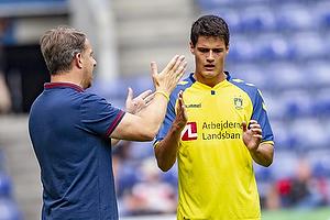 Christian N�rgaard (Br�ndby IF), Alexander Zorniger, cheftr�ner (Br�ndby IF)
