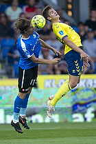 Mikael Uhre (Br�ndby IF), Erik Marxen (Randers FC)