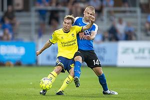 Simon Tibbling (Br�ndby IF), Frederik Lauenborg (Randers FC)