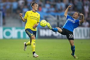 Lasse Vigen Christensen (Br�ndby IF), Joel Allansson (Randers FC)