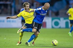 Kasper Fisker (Br�ndby IF), Johnny Thomsen (Randers FC)