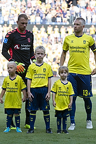 Marvin Schw�be (Br�ndby IF), Johan Larsson, anf�rer (Br�ndby IF)