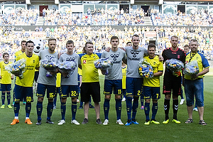 Ante Erceg (Br�ndby IF), Bj�rn Kopplin (Br�ndby IF), Morten Frendrup (Br�ndby IF), Mikael Uhre (Br�ndby IF), Jens Martin Gammelby (Br�ndby IF), Dominik Kaiser (Br�ndby IF), Marvin Schw�be (Br�ndby IF)