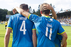 Mikael Uhre, m�lscorer (Br�ndby IF), Benedikt R�cker (Br�ndby IF)