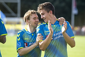 Simon Tibbling (Br�ndby IF), Mikael Uhre (Br�ndby IF)