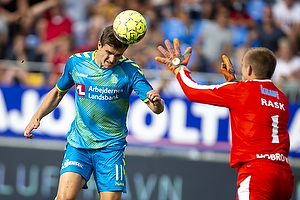 Mikael Uhre (Br�ndby IF), Jesper Rask (Hobro IK)
