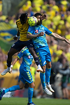 Anthony Jung (Br�ndby IF), Emmanuel Afriyie Mario Sabbi (Hobro IK)