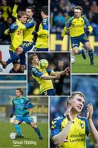 Fotografen har til fodboldturneringen Br�ndby Cup fra 1-5. august lavet nogle plakater til at dekorere fotografens stand i eventomr�det.