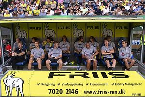 Alexander Zorniger, cheftr�ner (Br�ndby IF), Martin Retov, Assistenttr�ner (Br�ndby IF)