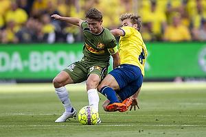 Magnus Kofod Andersen (FC Nordsj�lland), Kasper Fisker (Br�ndby IF)