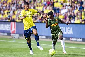 Joel Kabongo (Br�ndby IF), Ibrahim Sadiq (FC Nordsj�lland)