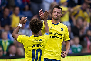 Kamil Wilczek, m�lscorer (Br�ndby IF), Hany Mukhtar (Br�ndby IF)