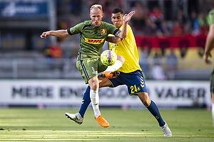 Mikkel Rygaard (FC Nordsj�lland), Joel Kabongo (Br�ndby IF)