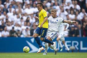 Lasse Vigen Christensen (Br�ndby IF), Viktor Fischer (FC K�benhavn)
