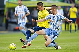 Ante Erceg (Br�ndby IF), David Dunderski (FK Spartak Subotica)