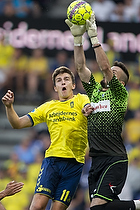 Mikael Uhre (Br�ndby IF), Nikola Peric (FK Spartak Subotica)