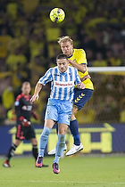 Paulus Arajuuri (Br�ndby IF), Dejan Djenic (FK Spartak Subotica)