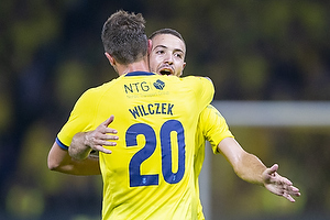 Kamil Wilczek (Br�ndby IF), Josip Radosevic (Br�ndby IF)