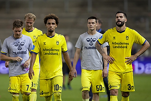 Dominik Kaiser (Br�ndby IF), Hany Mukhtar (Br�ndby IF), Ante Erceg (Br�ndby IF), Anthony Jung (Br�ndby IF)