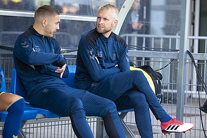 Josip Radosevic (Br�ndby IF), Johan Larsson (Br�ndby IF)