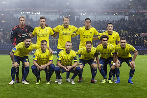 Marvin Schw�be (Br�ndby IF), Kamil Wilczek (Br�ndby IF), Paulus Arajuuri (Br�ndby IF), Joel Kabongo (Br�ndby IF), Ante Erceg (Br�ndby IF), Anthony Jung (Br�ndby IF), Lasse Vigen Christensen (Br�ndby IF), Johan Larsson, anf�rer (Br�ndby IF), Dominik Kaiser (Br�ndby IF), Hany Mukhtar (Br�ndby IF), Josip Radosevic (Br�ndby IF)