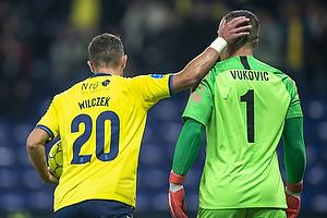 Kamil Wilczek (Br�ndby IF), Daniel Vukovic (KRC Genk)