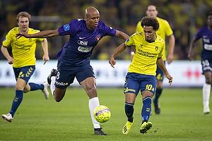 Hany Mukhtar (Br�ndby IF), Ayo Simon Okosun (FC Midtjylland)