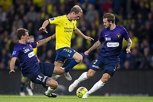 Nikolai Laursen (Br�ndby IF), Alexander Scholz (FC Midtjylland), Kian Hansen (FC Midtjylland)