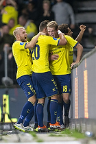 Johan Larsson (Br�ndby IF), Kamil Wilczek (Br�ndby IF), Nikolai Laursen (Br�ndby IF)