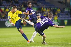 Kamil Wilczek (Br�ndby IF), Mads D�hr Tychosen (FC Midtjylland)