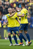 Johan Larsson (Br�ndby IF), Kamil Wilczek (Br�ndby IF)
