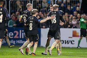 Mikael Uhre, m�lscorer (Br�ndby IF), Kasper Fisker (Br�ndby IF), Nikolai Laursen (Br�ndby IF)
