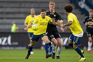 Dominik Kaiser (Br�ndby IF), Bjarke Jacobsen (AC Horsens)