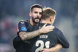 Lasse Vigen Christensen, m�lscorer (Br�ndby IF), Anthony Jung (Br�ndby IF)