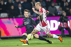 Lasse Vigen Christensen (Br�ndby IF), Kasper Pedersen (Aab)