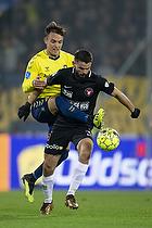 Lasse Vigen Christensen (Br�ndby IF), Marc Dal Hende (FC Midtjylland)