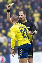 Michael Johansen, dommer, Josip Radosevic (Br�ndby IF)