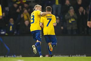 Johan Larsson (Br�ndby IF), Dominik Kaiser, m�lscorer (Br�ndby IF)