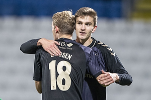 Nikolai Laursen (Br�ndby IF), Mikael Uhre (Br�ndby IF)