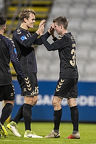 Filip Blazek (Br�ndby IF), Morten Frendrup, m�lscorer (Br�ndby IF)