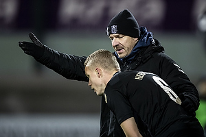 Alexander Zorniger, cheftr�ner (Br�ndby IF), Hj�rtur Hermannsson (Br�ndby IF)