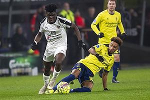 Hany Mukhtar (Br�ndby IF), Emmanuel Afriyie Mario Sabbi (Hobro IK)