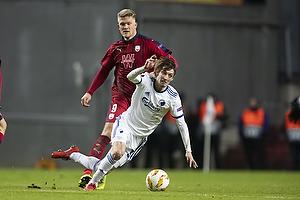 Andreas Cornelius (Bordeaux), Rasmus Falk (FC K�benhavn)
